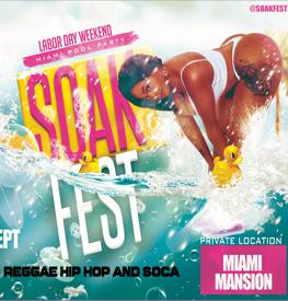 Soak Fest Miami Labor Day Weekend Pool Party Miami Beach